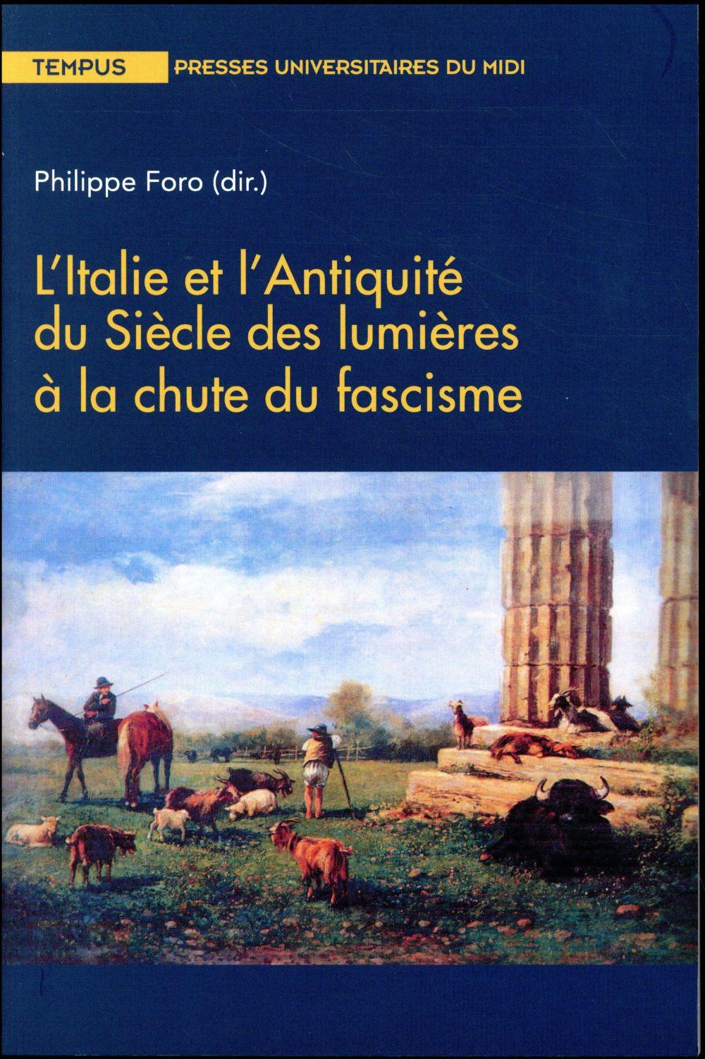 L'italie et l'Antiquité