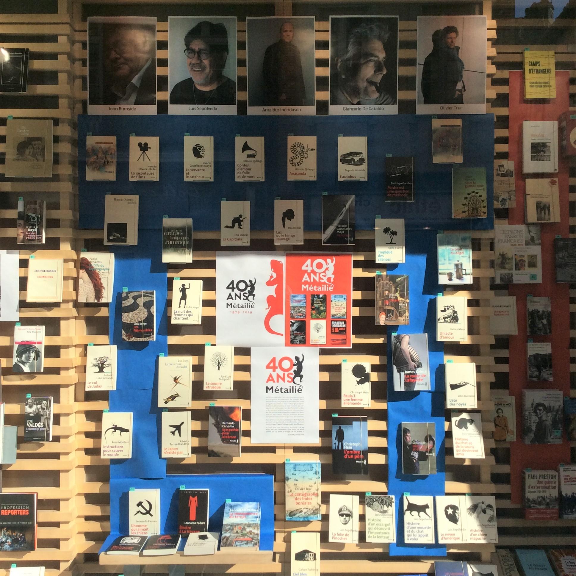 Les éditions Métailié fêtent leurs 40 ans